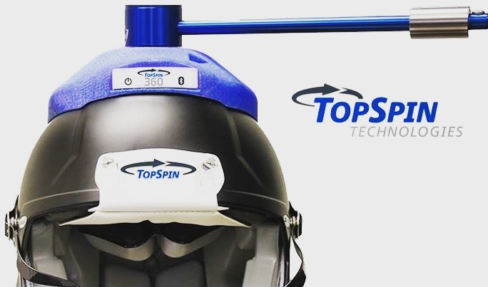 TopSpin Helmet and Logo